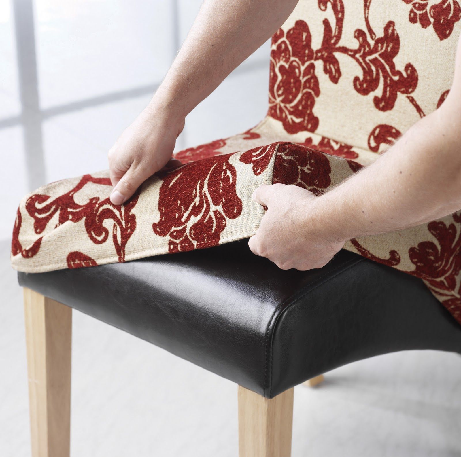 DIY How to make a Slip Cover for a Chair