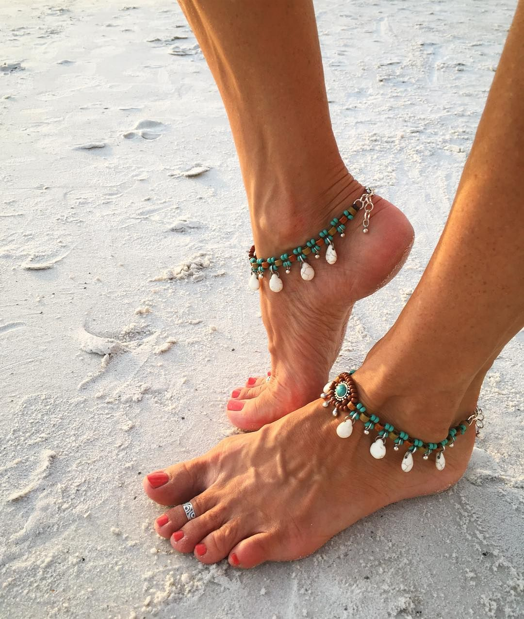 Jewelry Sets & More Bright Unique Nice Sexy Simple Beads Silver Color Chain Anklet Ankle Foot Jewelry Cheap Sales 50%
