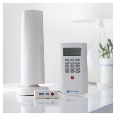 SimpliSafe Guardian Home Security Kit White (TgtGDN08