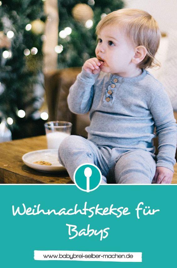 Weihnachtskekse für Babys: Tipps und Rezepte ohne Zucker #cookietips