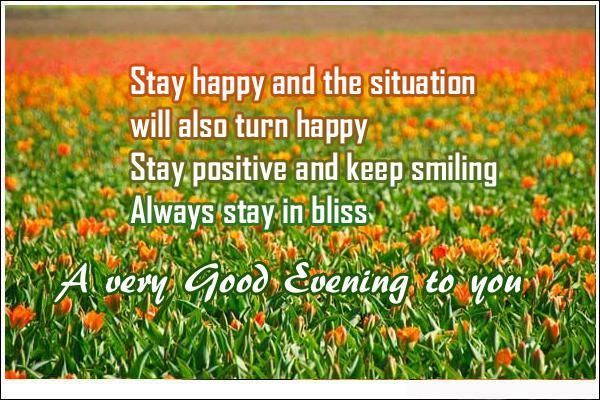 Good Evening Quotes Very Good Evening To You Good Evening Quotes