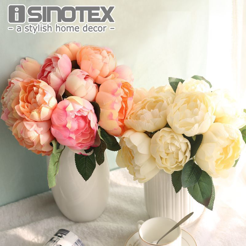 Cheap Artificial Flowers Peony Buy Quality Floral Bouquet Directly