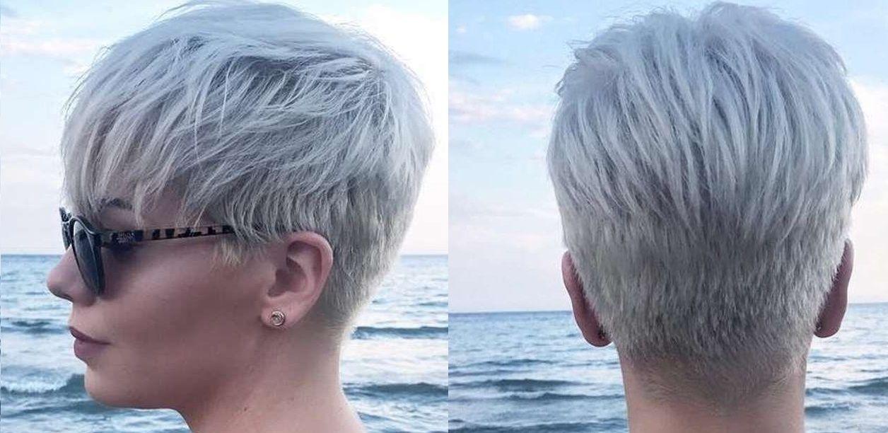 Das Kurze Graue Haar Frisuren Kurz Frisuren Kurze Graue Haare Haarschnitt Kurz