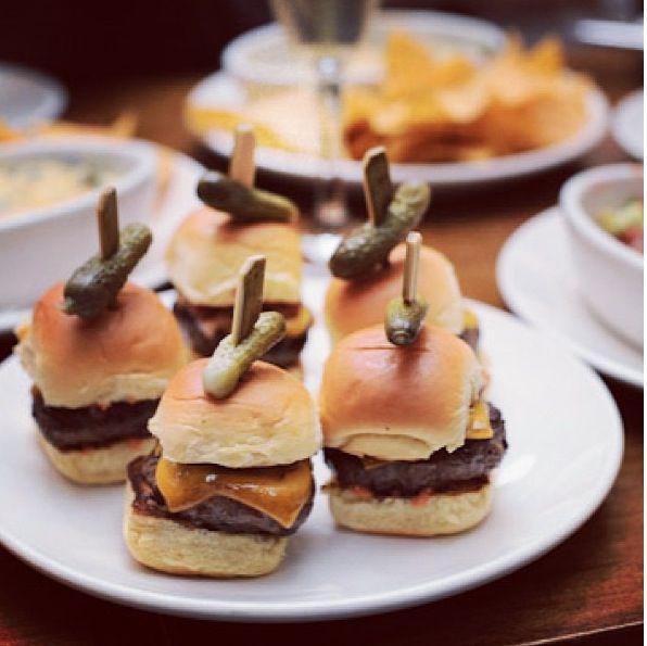 Mini sandwiches with tiny pickles | Food, Mini sandwiches ...