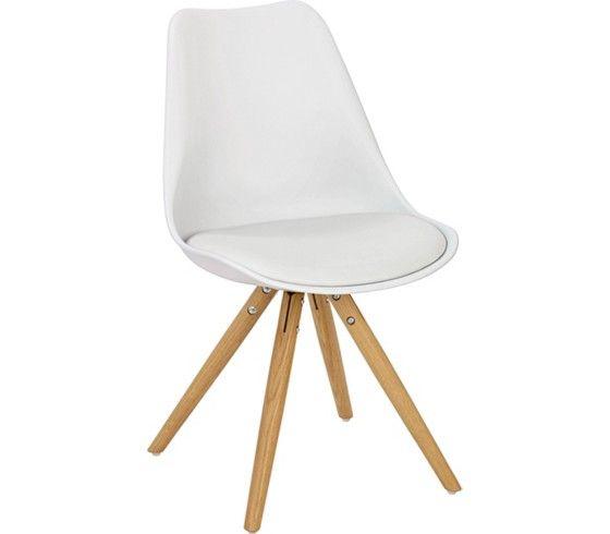 Stuhl Weiß Eiche bei mömax günstig online bestellen New Home - küchenstuhl weiß holz