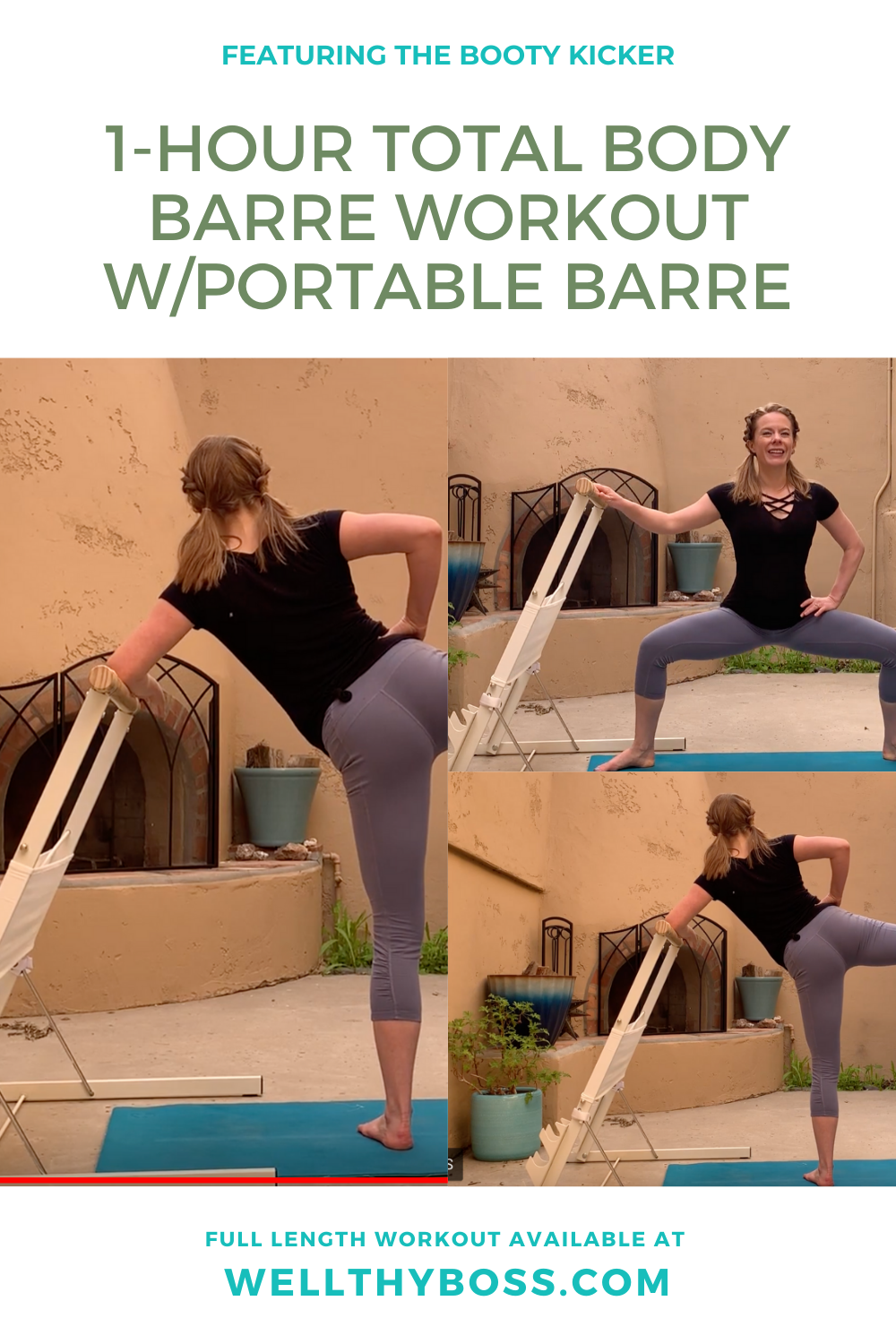 Pin On Barre Workout