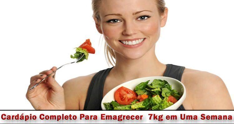 Reeducação Alimentar: Cardápio