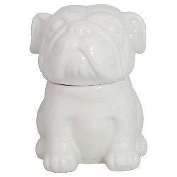 Threshold English Bulldog Cookie Jar White 65 Target