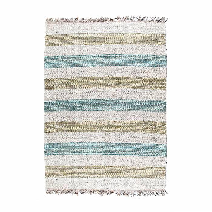 Tapijt Carpet Jute Natural Groen Blauw Kopen By Boo
