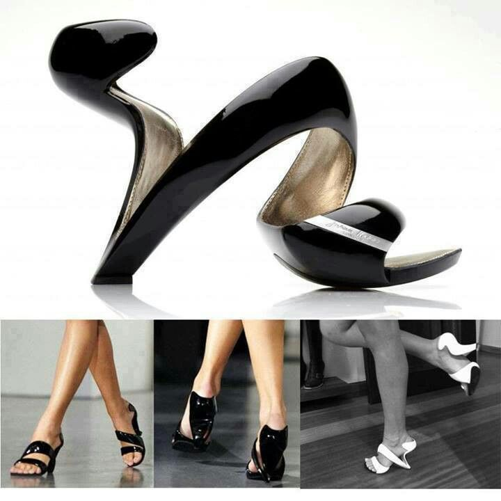 17e19ff2d9 You are kidding me! like wearing art for your feet. Elegant Mojito Shoe  from Julian Hakes  video  - AllDayChic
