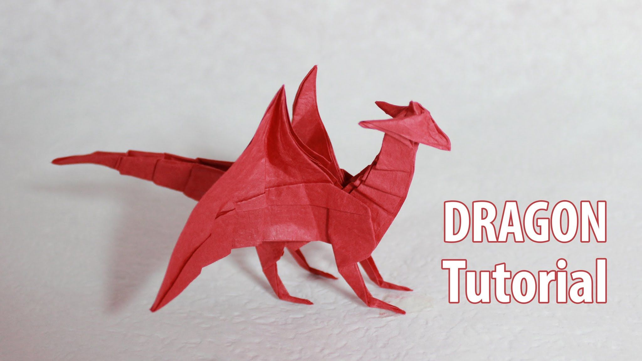 Origami Dragon 4.0 tutorial (Henry Phạm) | I want to make ... - photo#8