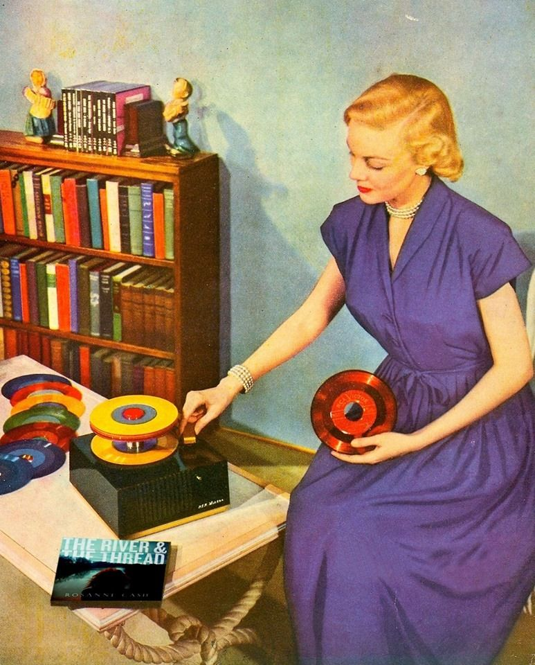 Chicas y discos de vinilo / Girls and vinyl records