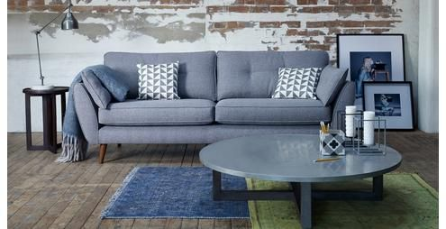 Zinc sofa french connection at dfs