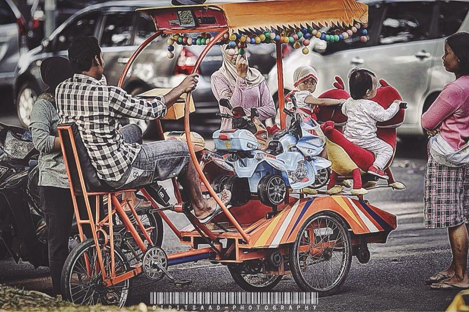 Street Caroussel called Odong-odong