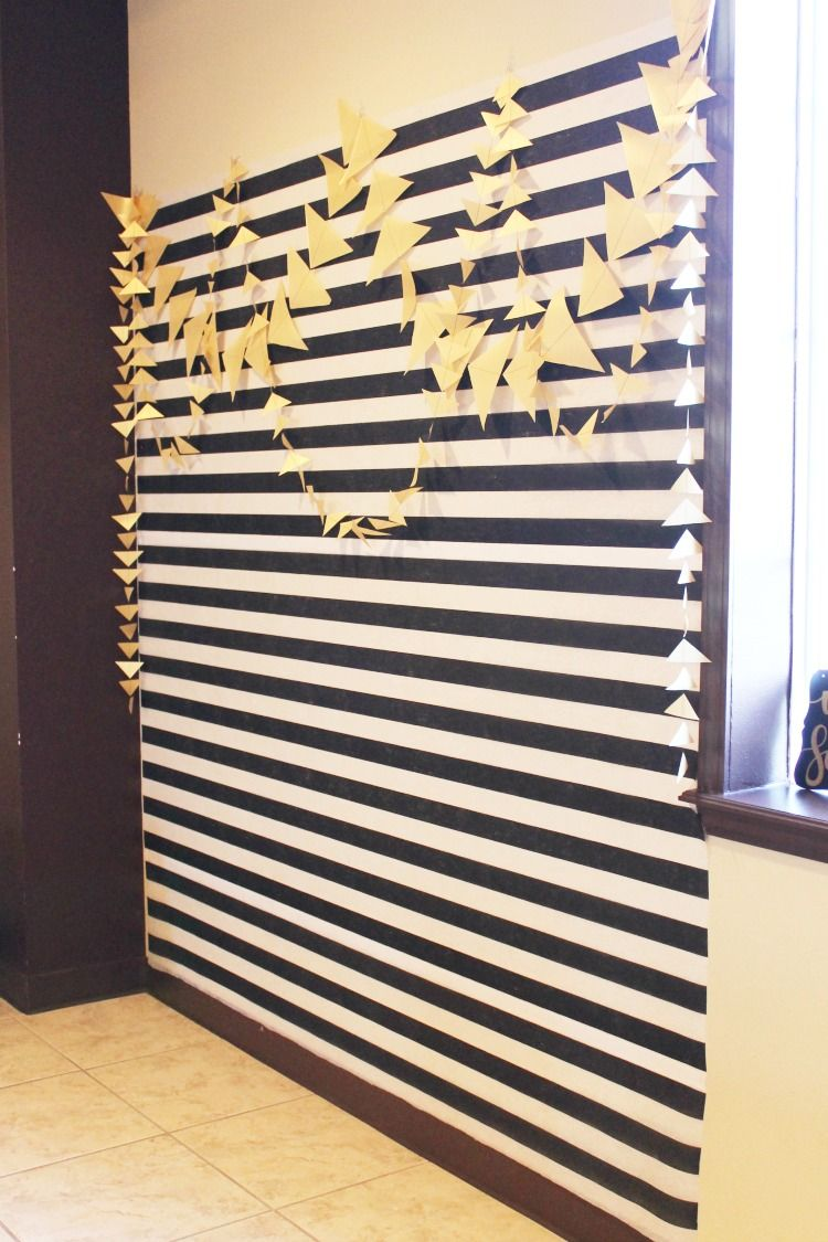 Black White and Gold 60th Birthday Party Ideas #photoblackwhite