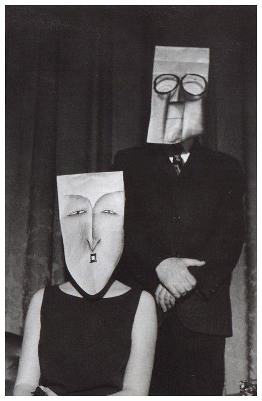 modern nostalgic: masquerade: saul steinberg & inge morath