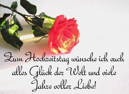 Viel Gluck Und Viel Liebe Zum Hochzeitsjubilaum Hochzeitswunsche