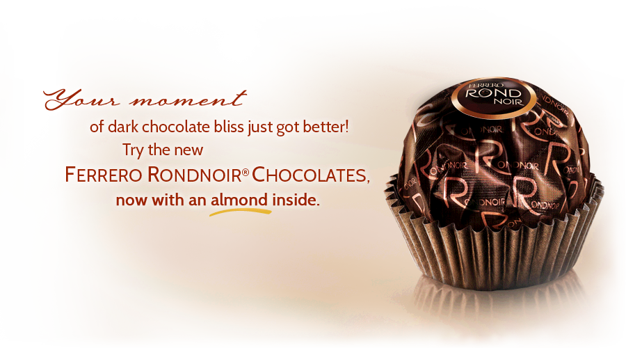 Ferrero Rond Noir I Received A Parcel Of 12 From My Lovely