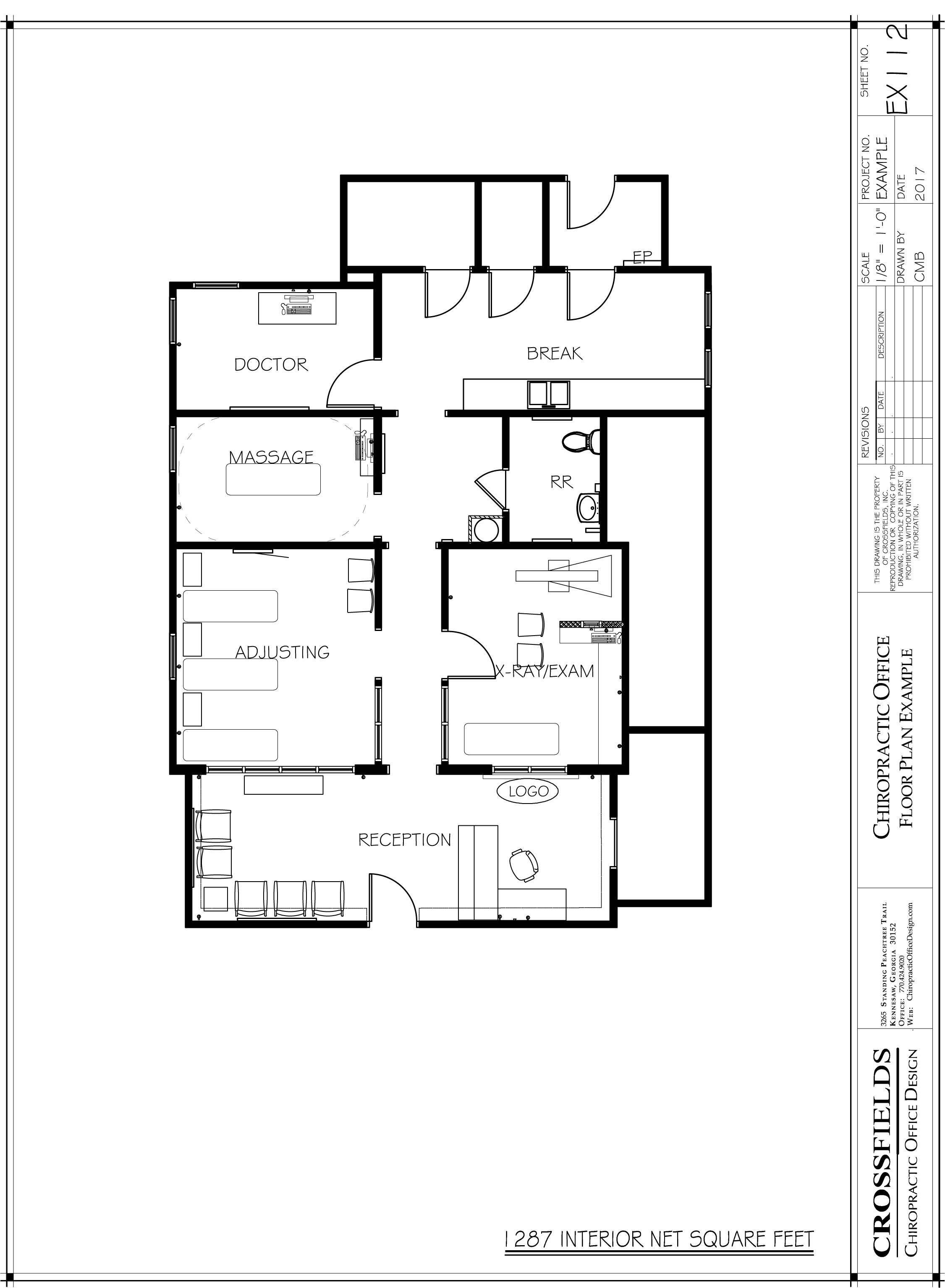 Chiropractic Office Floor Plans Versatile Medical