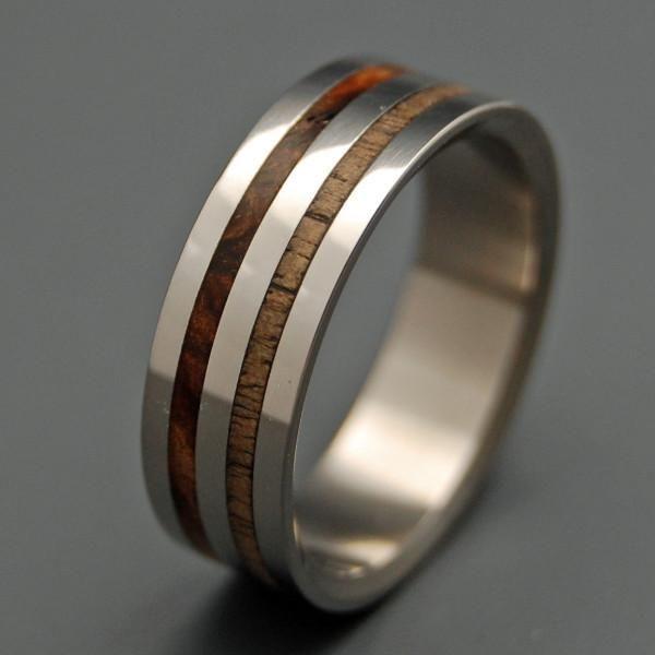 The Harvest Titanium ring and Weddings