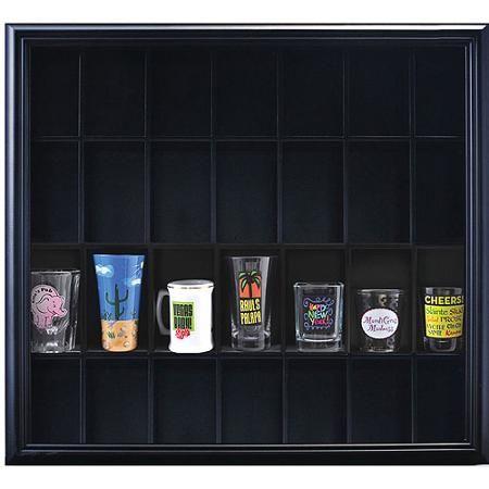 Pinnacle Frame Shot Glass Case, Black   Patricia's World