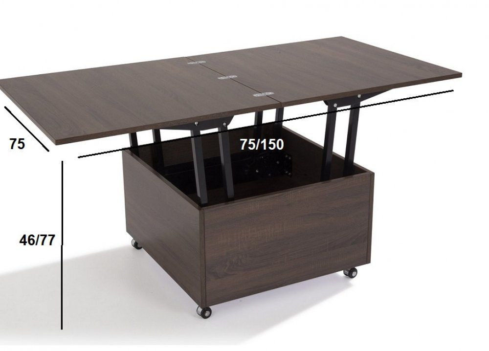 Table Basse Relevable Extensible Giani Wenge Table Basse Relevable Extensible Table Basse Relevable Table Relevable Extensible
