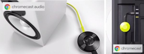 Google Chromecast 2 y Chromecast Audio