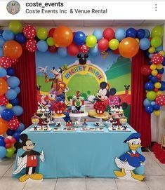 Mickey Mouse Clubhouse Birthday Party Decoration Ideas Mickey Mouse Clubhouse Birthday Party Decorations Mickey Mouse Birthday Decorations Fiesta Mickey Mouse