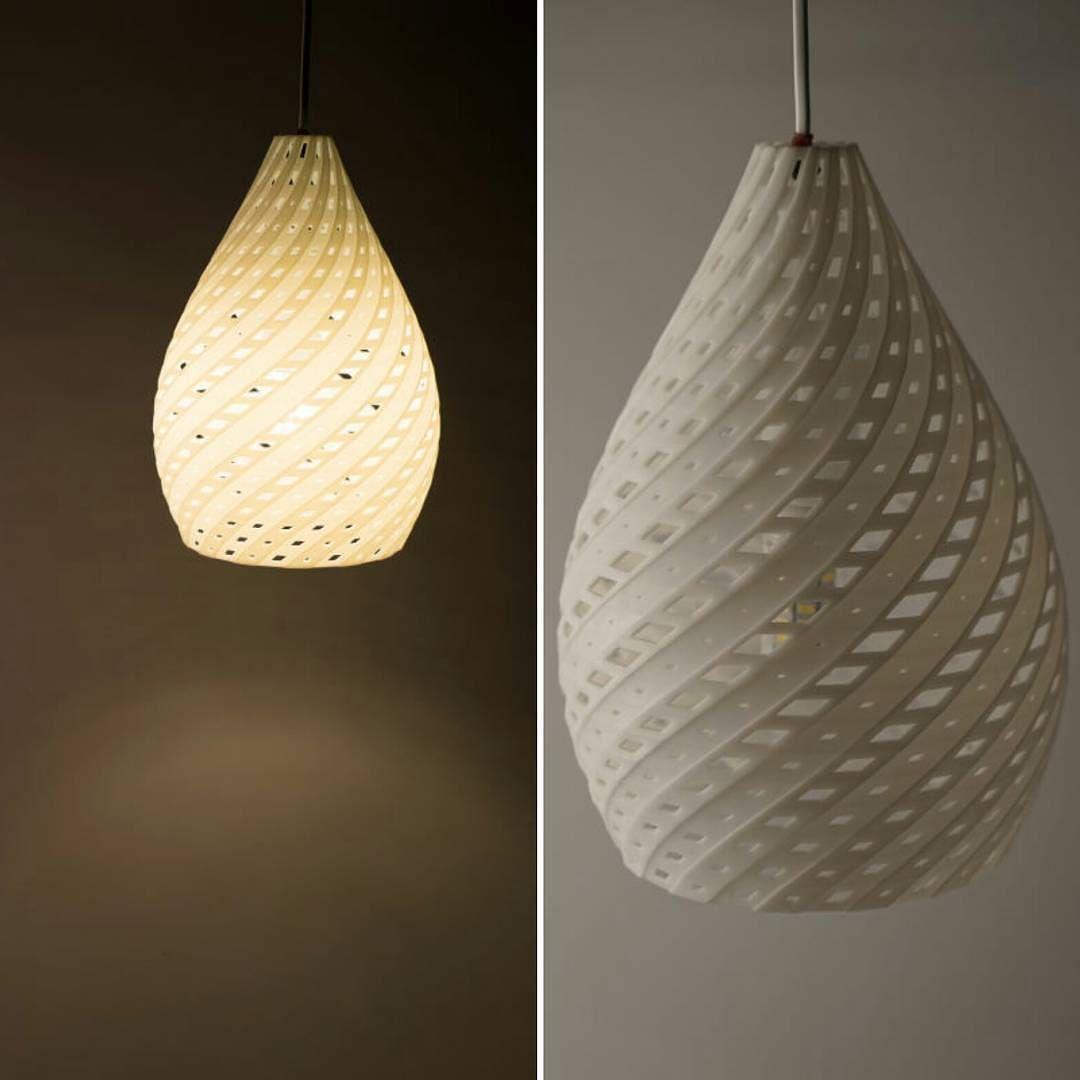 Helix Lamp #parametric #grasshopper #design #product by ric_rh ...