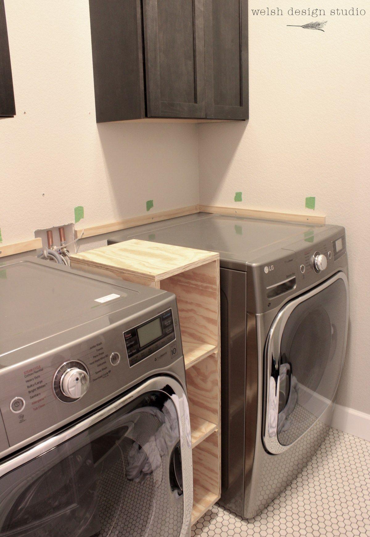 Photo of A Quick Laundry Room Progress Update – Welsh Design Studio