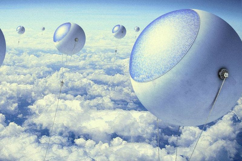 Engineers are building solar balloons that float above the clouds for constant sun