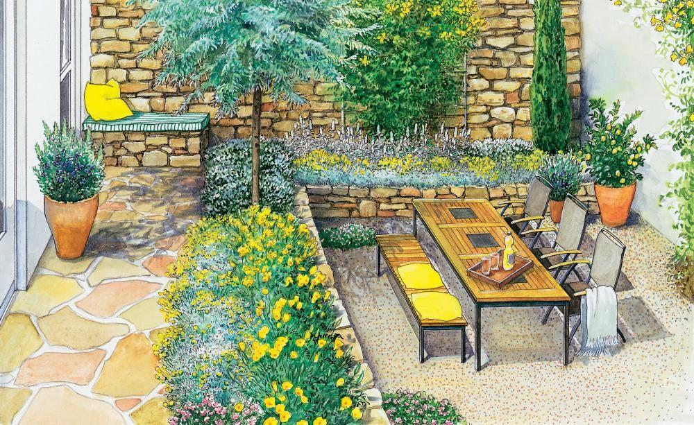 Mediterraner Garten - planen, anlegen und Tipps
