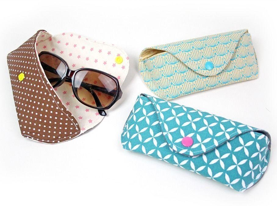 Nähanleitung Brillenetui CLEO | Sonnenbrille & Brille - Nähanleitungen bei Makerist