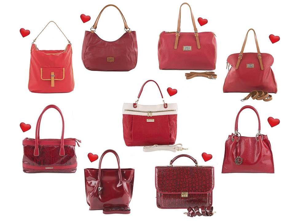 Die roten Taschen von AUGUSTO speziell zum Valentinstag