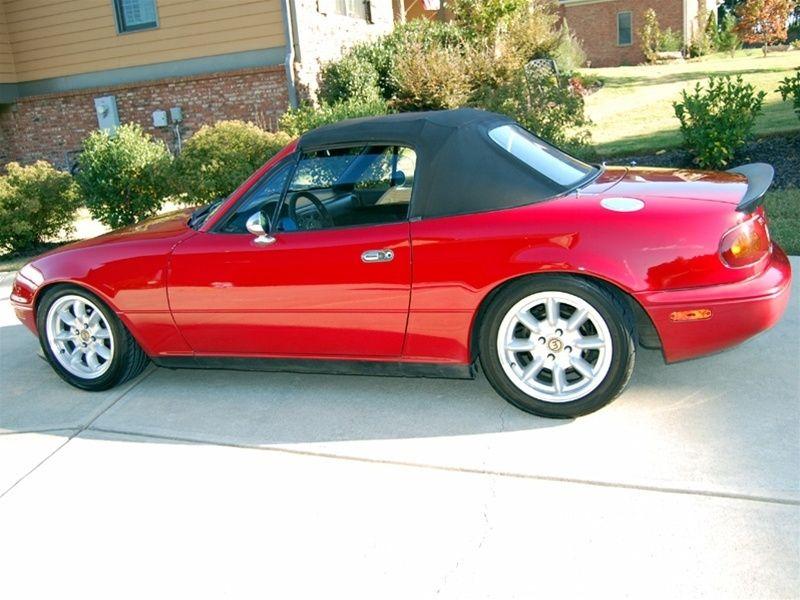 Miata Trunk Spoiler Kg Works Miata Deck Spoiler Miata Miata Mx5 Mazda Mx5 Miata