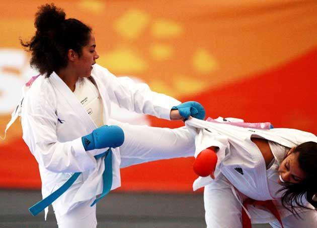 Los karatecas venezolanos César Herrera, Yeisy Piña y Omaira Molina conquistaron este sábado una medalla de bronce cada uno en los los XVII Juegos Panamericanos, Toronto 2015.