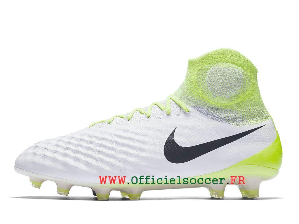 pretty nice c0f66 ba259 Football Nike Magista Obra II FG Artificiel Chaussure de football en salle  pour Homme Blanc