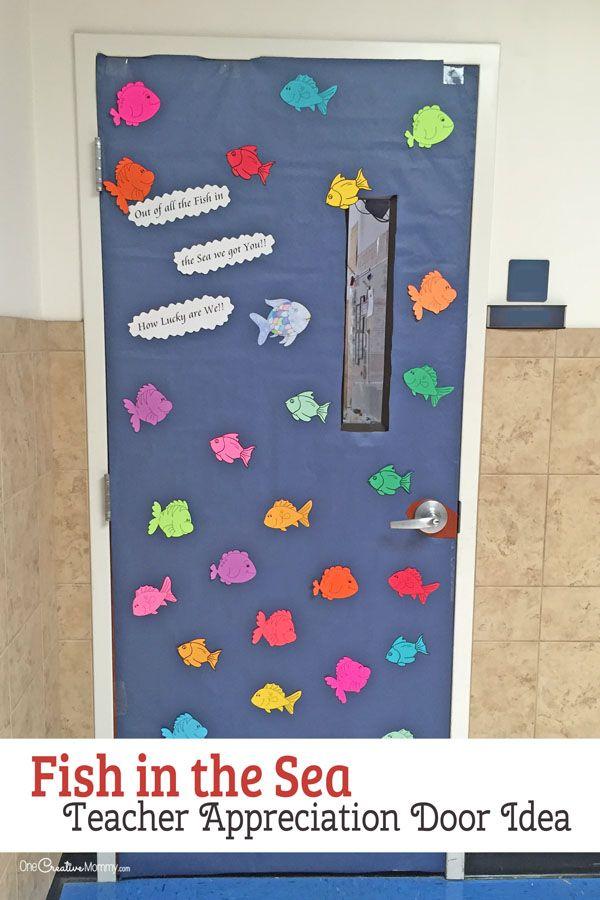21 Awesome Teacher Appreciation Door Ideas Onecreativemommy Com