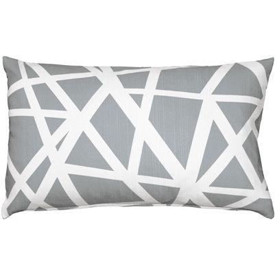 Bird S Nest Gray Throw Pillow 12x19