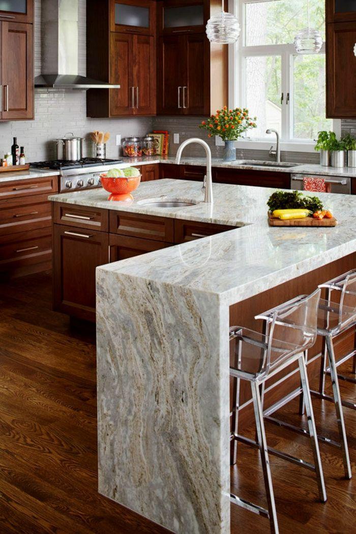 ▷ 1001 + ideas sobre decoración de cocinas con isla | Casa ...
