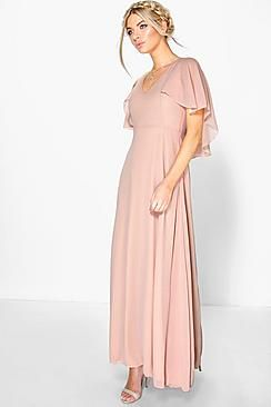 9a0f47c744f2c Maxi Dresses | Black, Evening Maxi Dresses | boohoo | Bridesmaid ...