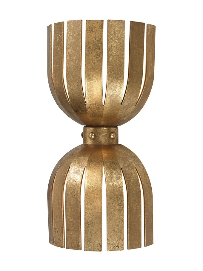 Olympia Double Wall Sconce from Rethink Your Space: Modern Accents on Gilt