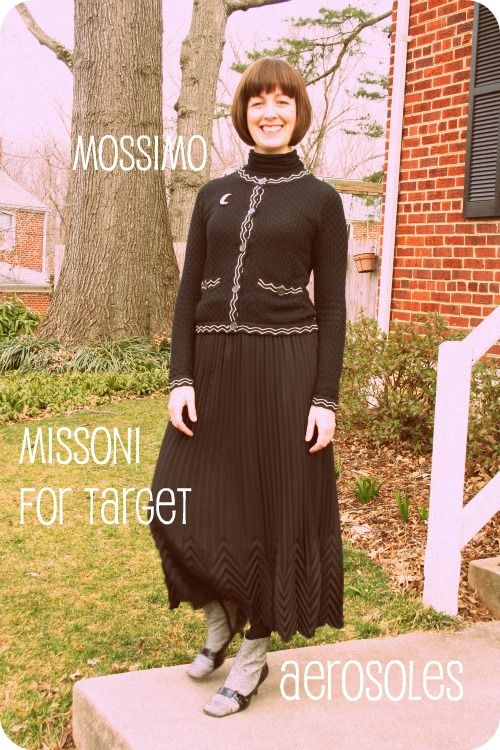 Today's outfit post: Missoni for Target (finally)!