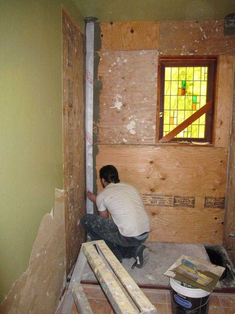 Tadelakt Part 2 Diy Plaster Plaster Walls Plywood Walls