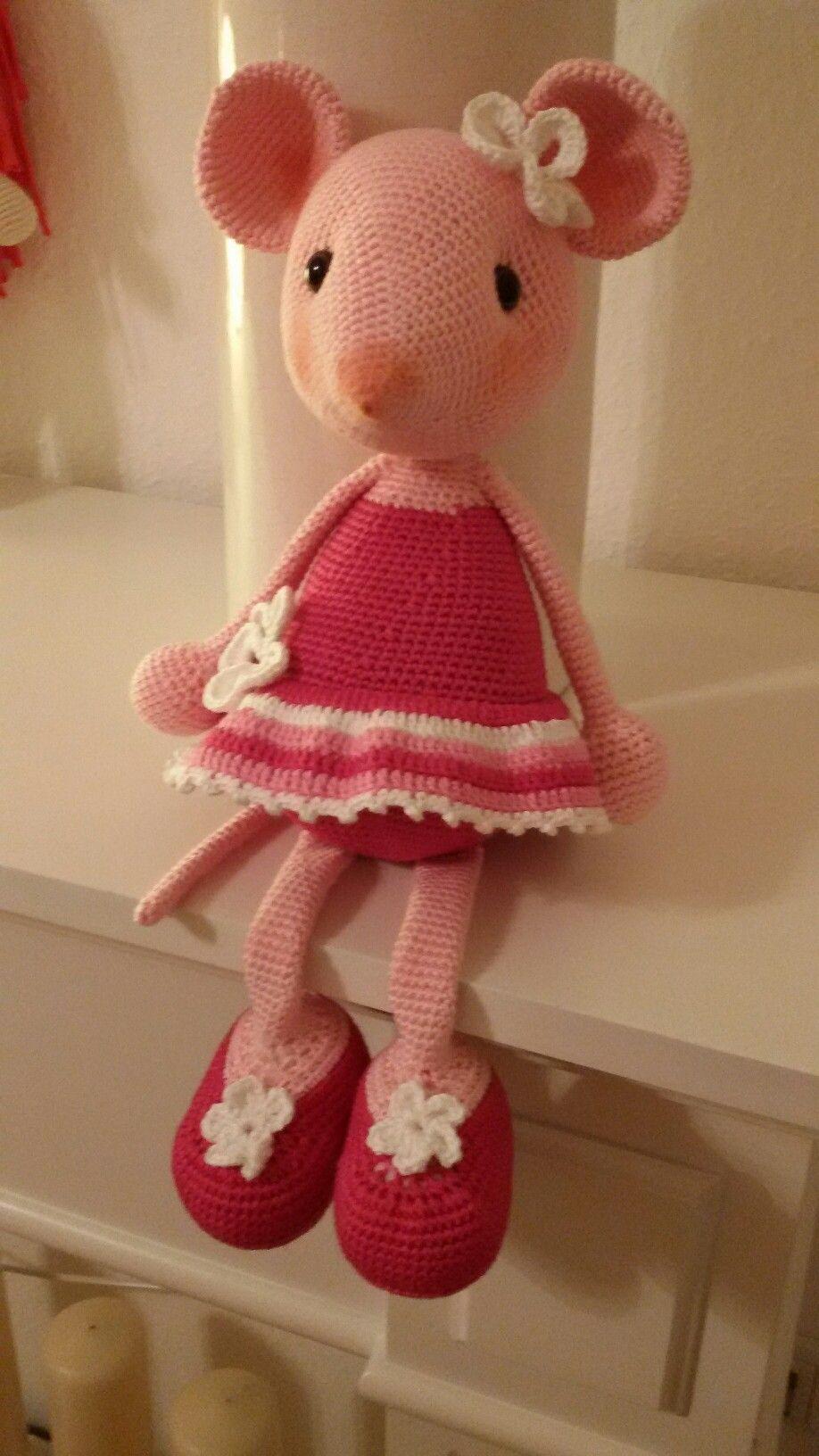 Angelina Balerina | hračky | Pinterest | Amigurumi, Crochet and ...