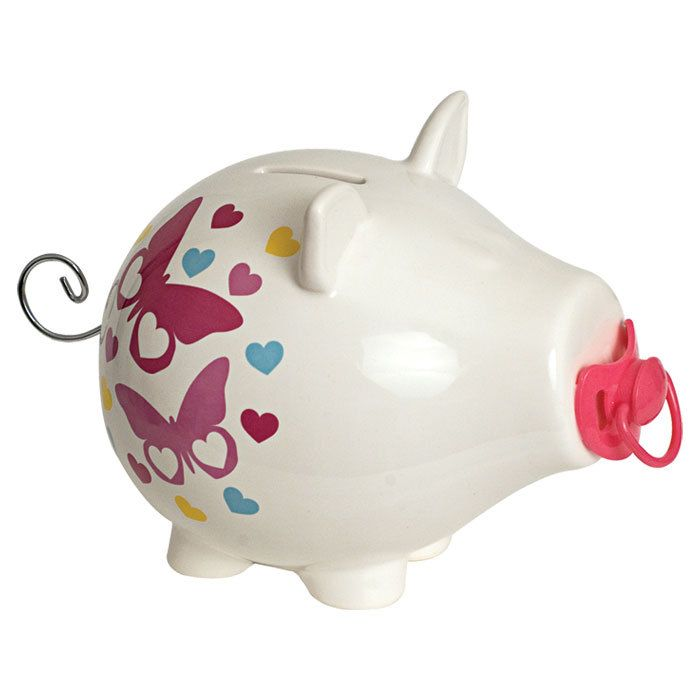 Decorative Objects Butterfly Piggy Bank Piggy Bank Piggy