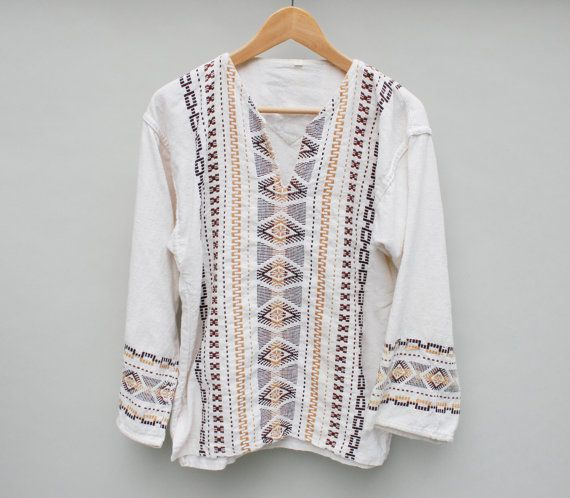1970s Mexican tunic