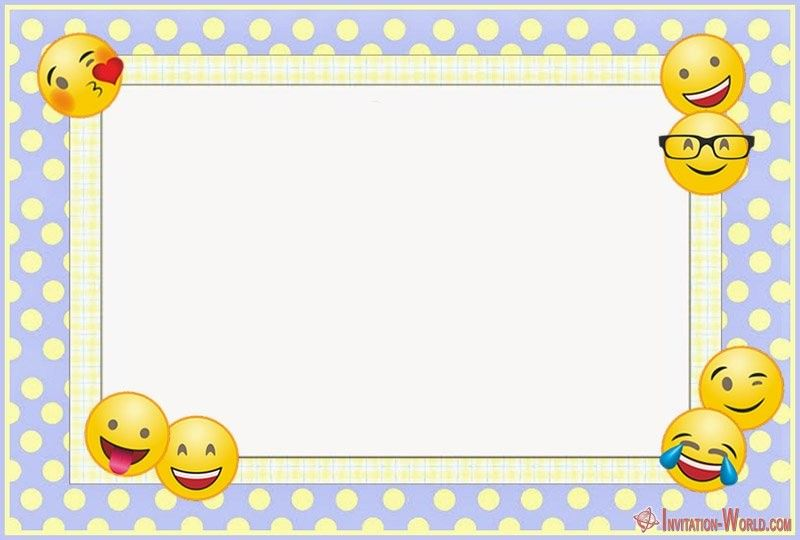 Emoji Invitations for the Perfect Party is part of Birthday party invitations free, Emoji invitations, Free printable invitations templates, Emoji birthday party, Free printable invitations, Emoji birthday - Are you looking for free emoji birthday party invitation  We offer you free templates if you want to make unforgettable personalized Emoji invitations