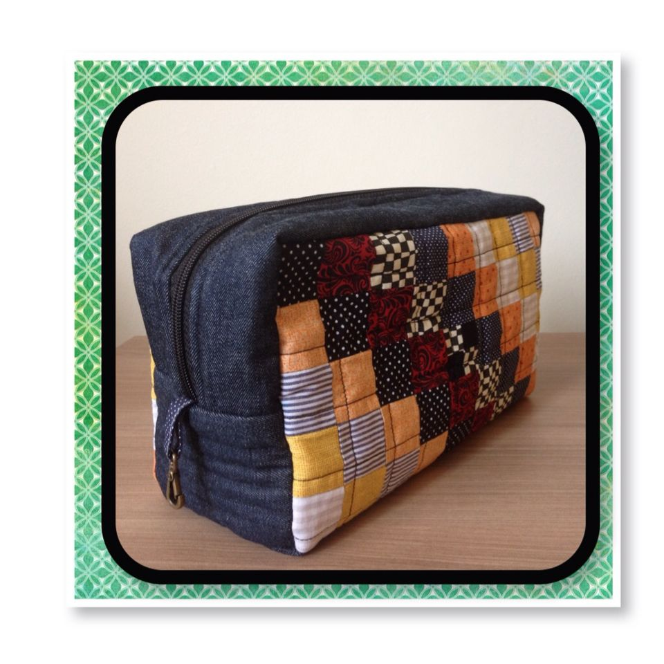 Necessaire inspired on Patchwork Please book project...