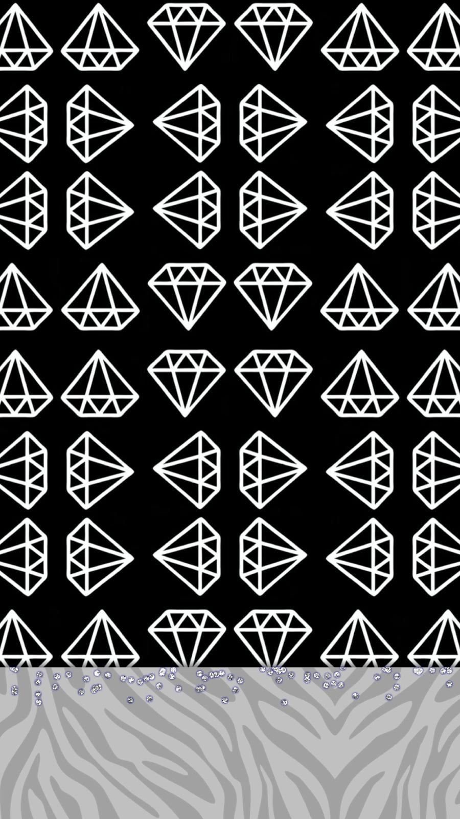 Dazzle my Droid Freebie fleek wallpaper set Black